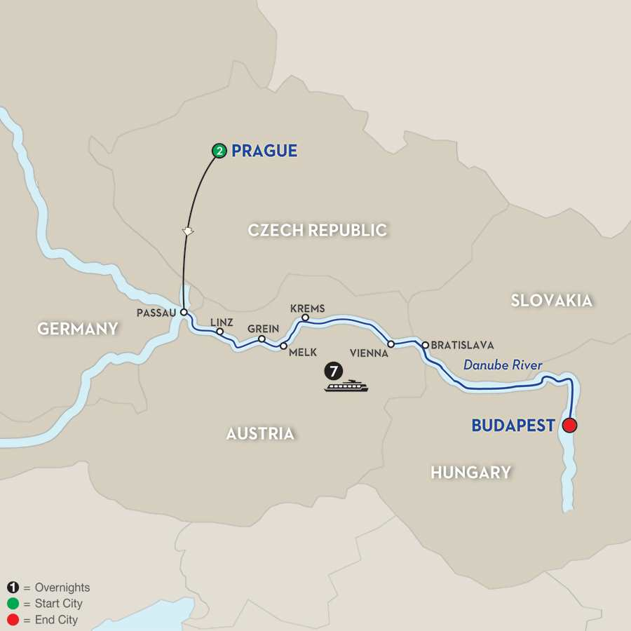 Capitals of Central Europe – Eastbound
