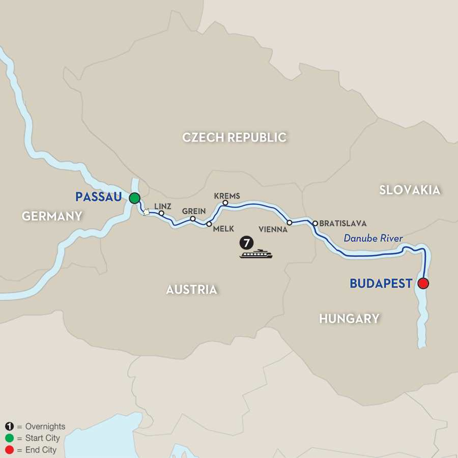 Capitals of Central Europe – Cruise Only Eastbound