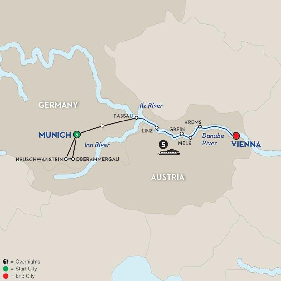 Austrian Highlights & Bavaria – Eastbound
