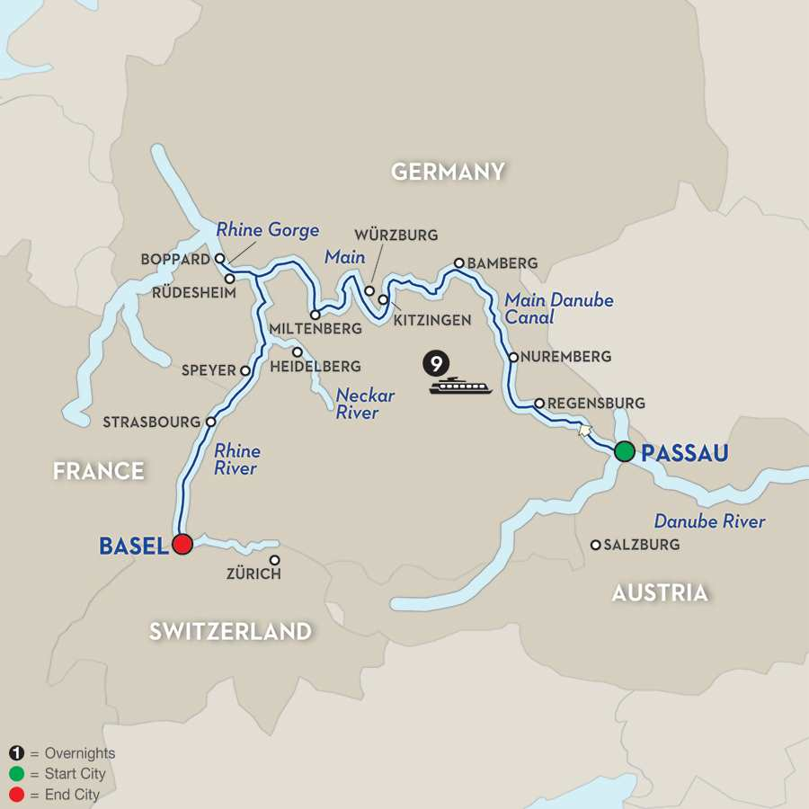 Highlights of Germany – Cruise Only