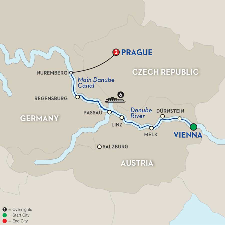 Christmastime on the Danube – Westbound