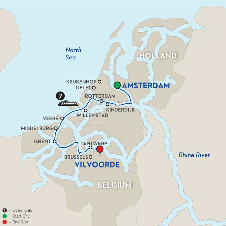 Essential Holland & Belgium – Southbound
