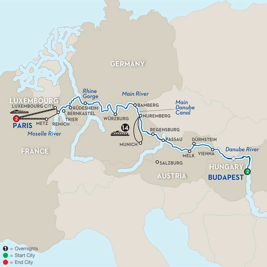 Jewels of Central Europe – Westbound