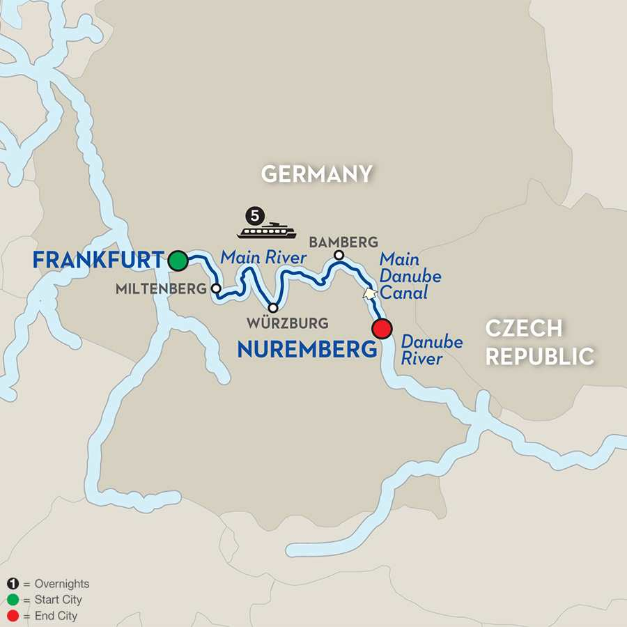 Christmas in the Heart of Germany – Cruise Only