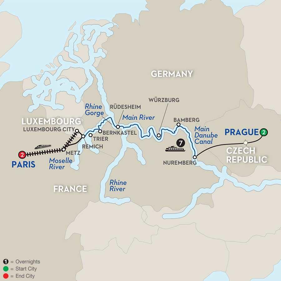 Central European Experience - Westbound