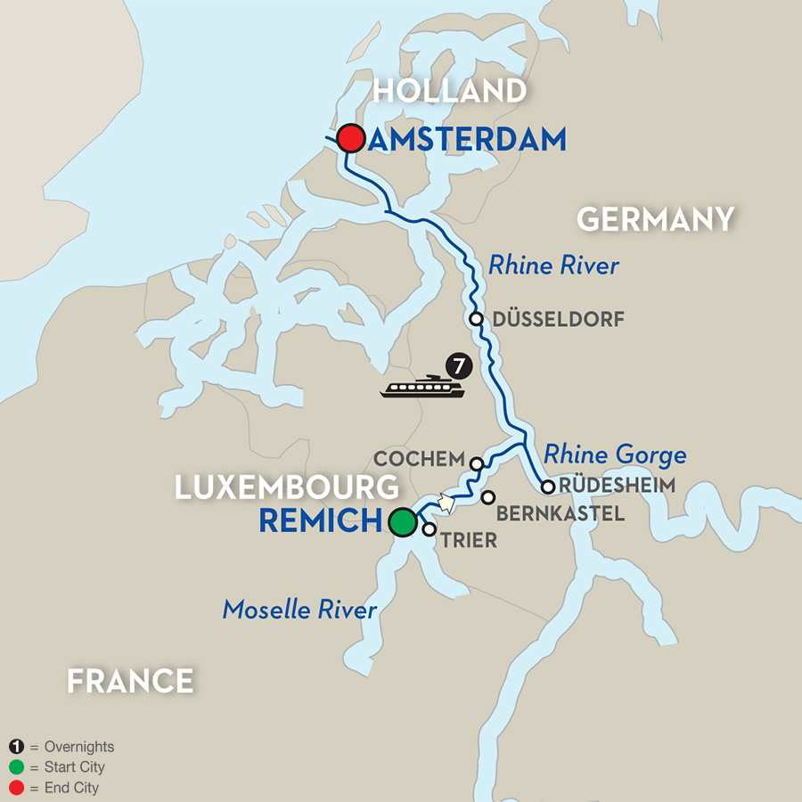 Canals, Vineyards & Paris – Cruise Only Northbound