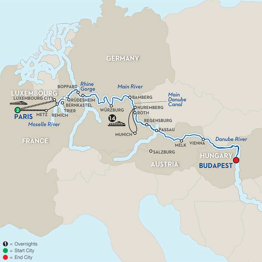 Jewels of Central Europe - Eastbound