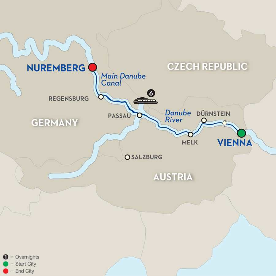 Christmastime on the Danube – Cruise Only Westbound
