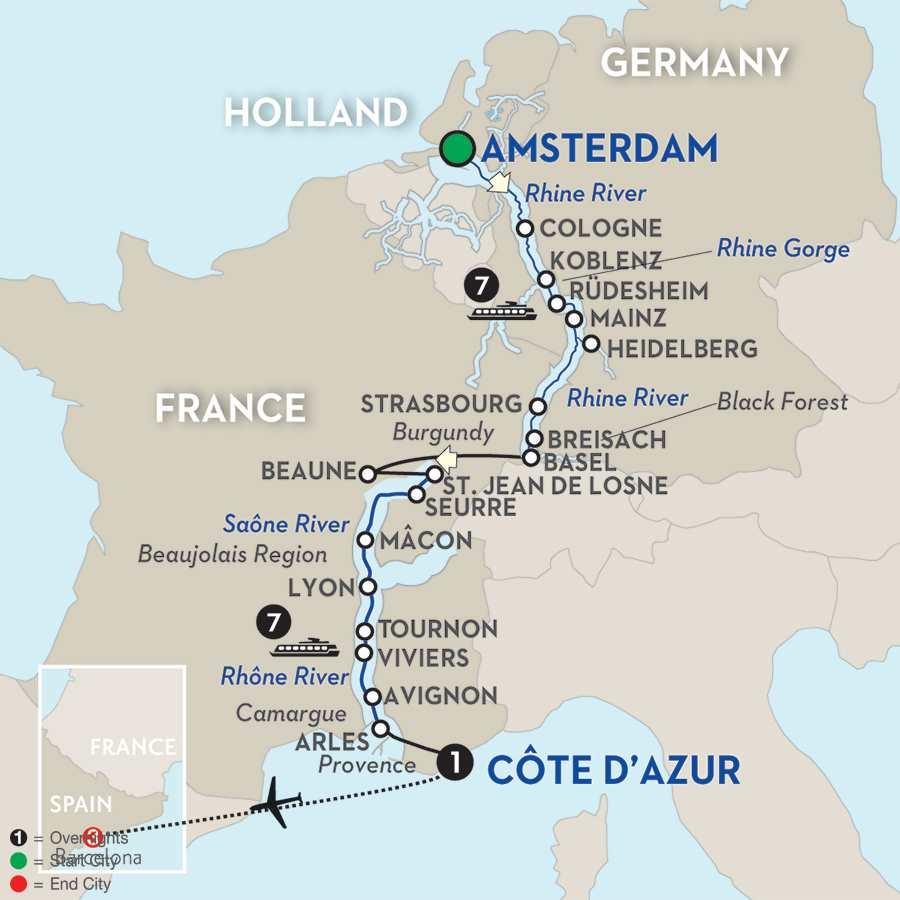 Rhine & Rhône Revealed with Barcelona for Wine Lovers