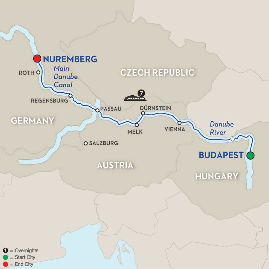 The Blue Danube Discovery – Cruise Only