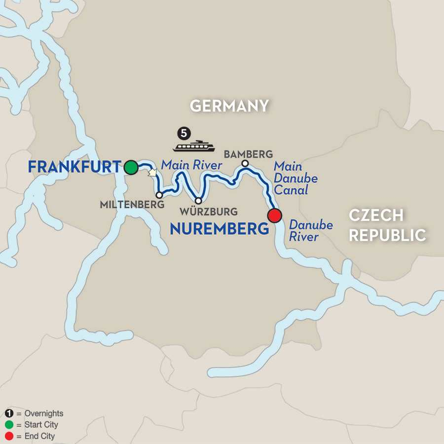 Christmas in the Heart of Germany – Cruise Only Eastbound