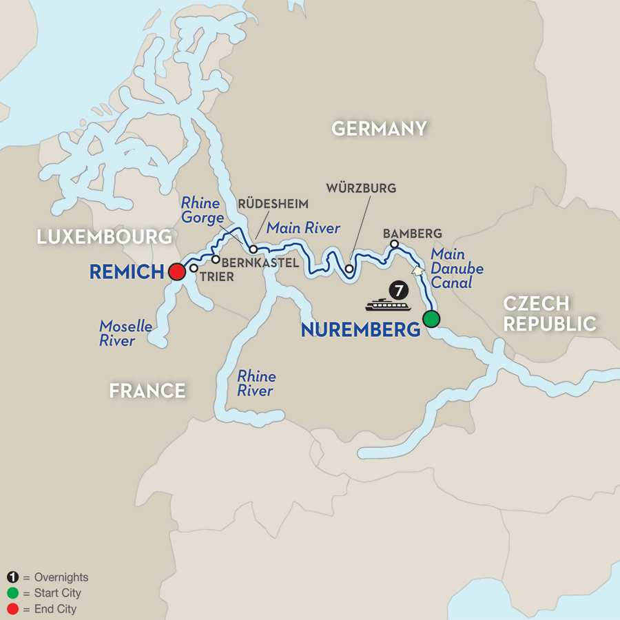 Central European Experience – Cruise Only Westbound