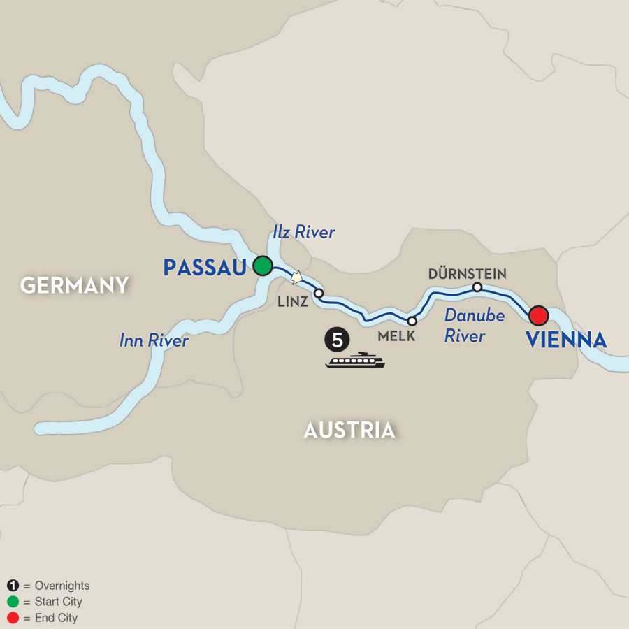 Danube Symphony - Cruise Only Eastbound