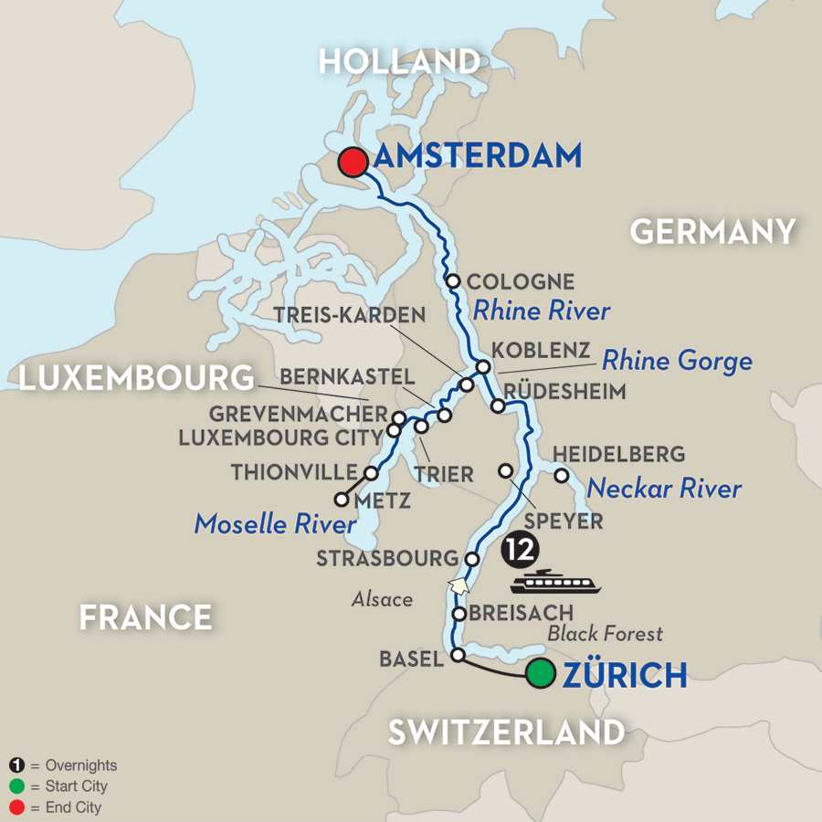 Cheap Rhine River Cruises