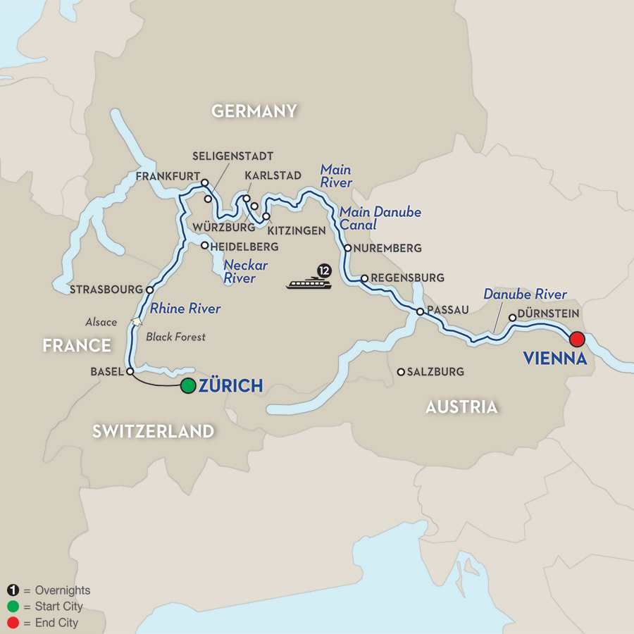 The Upper Rhine to the City of Music