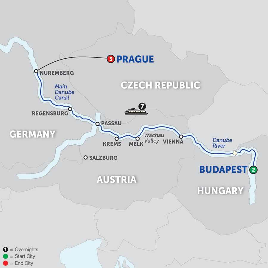 Festive Time on the Blue Danube Discovery