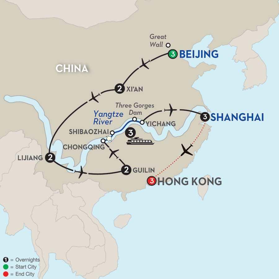 Enchanting China & the Yangtze River with Hong Kong