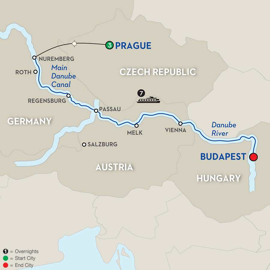 The Legendary Danube Author Cruise