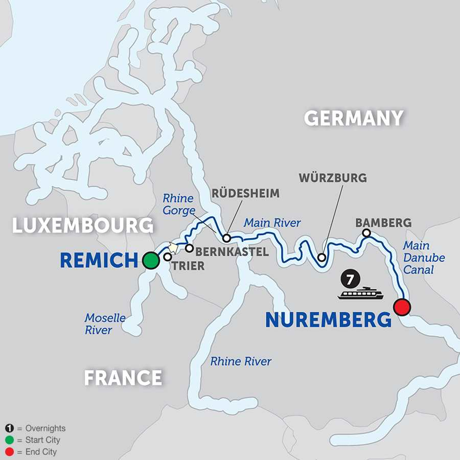 Central European Experience - Cruise Only Eastbound