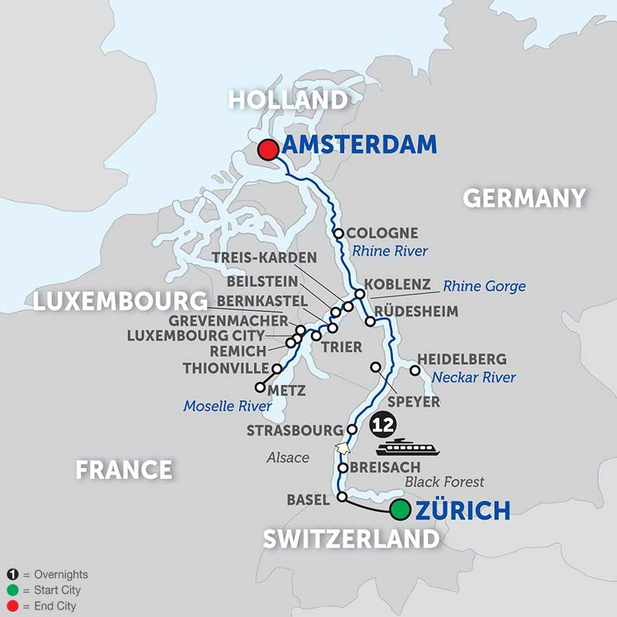 Moselle River Cruise - Avalon Waterways®