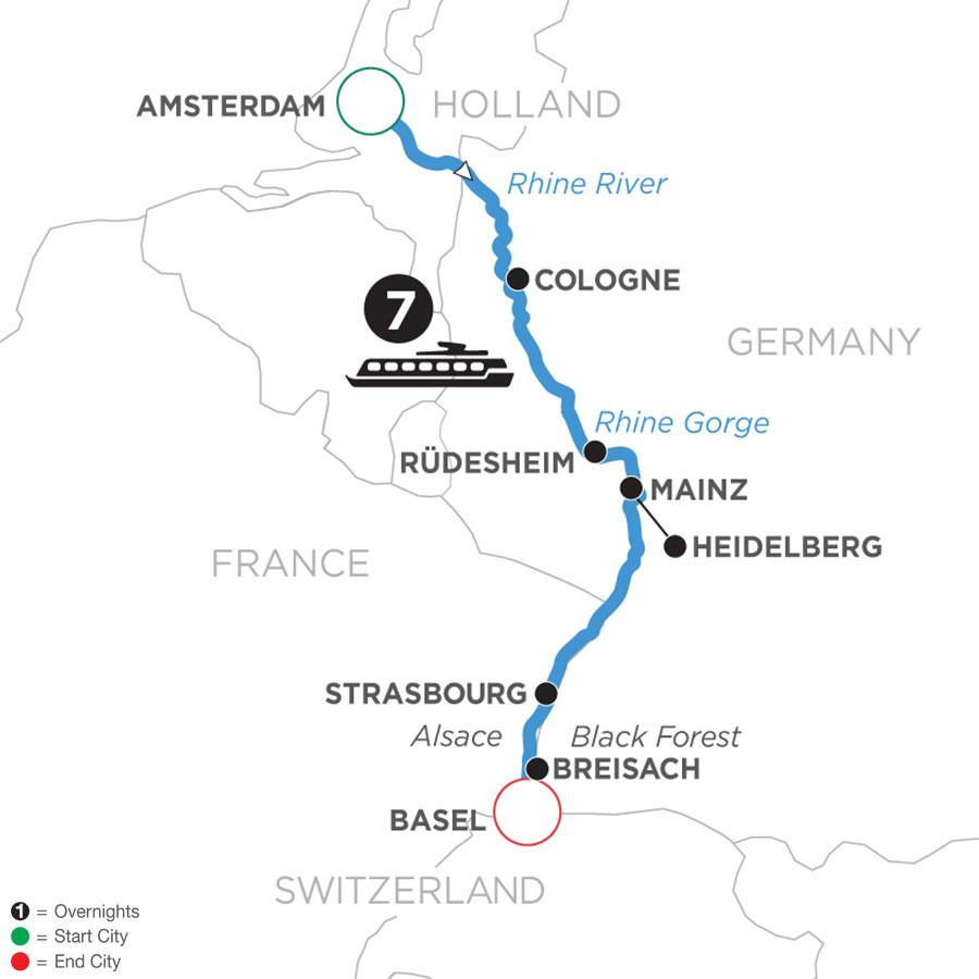 Tour Code WAZ 2022