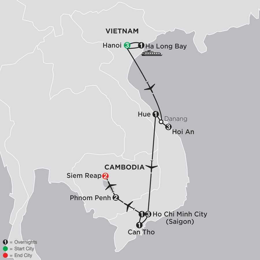 Simply Vietnam with Cambodia