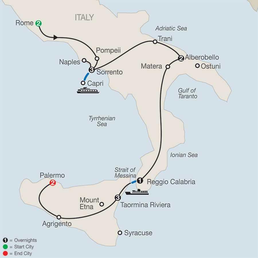 Highlights Of Sicily Amp Southern Italy Globus Pavlus Travel