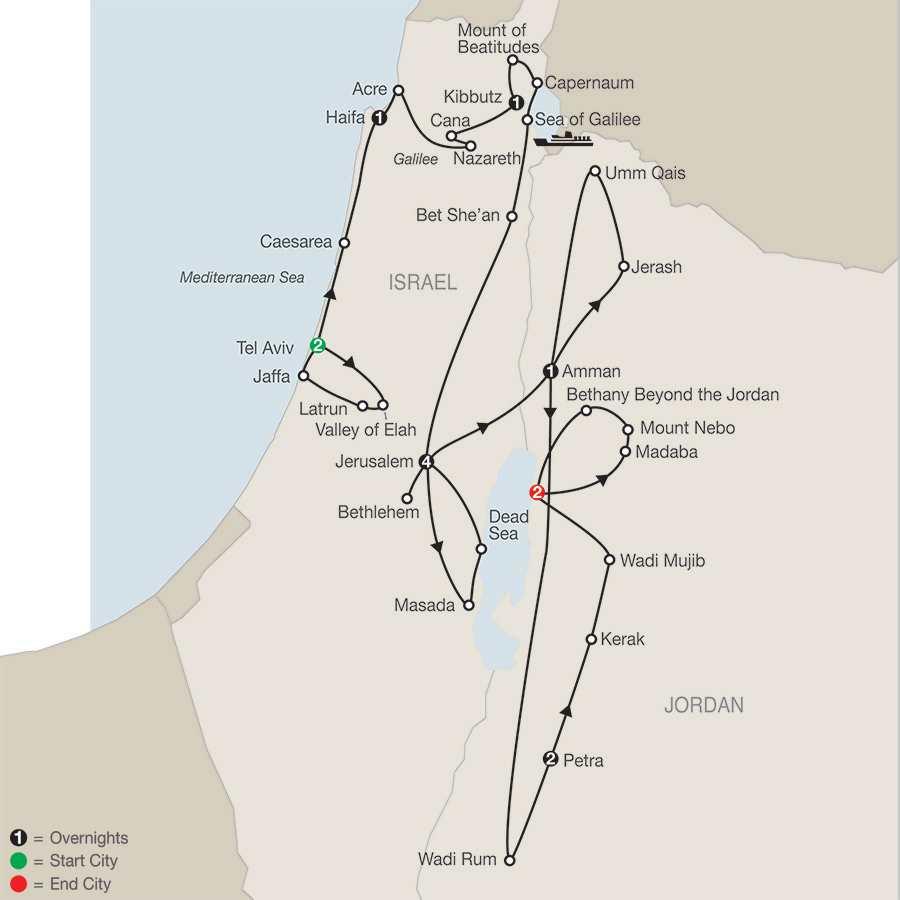 Fascinating Israel with Jordan