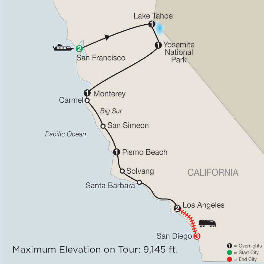 California Classics with San Diego