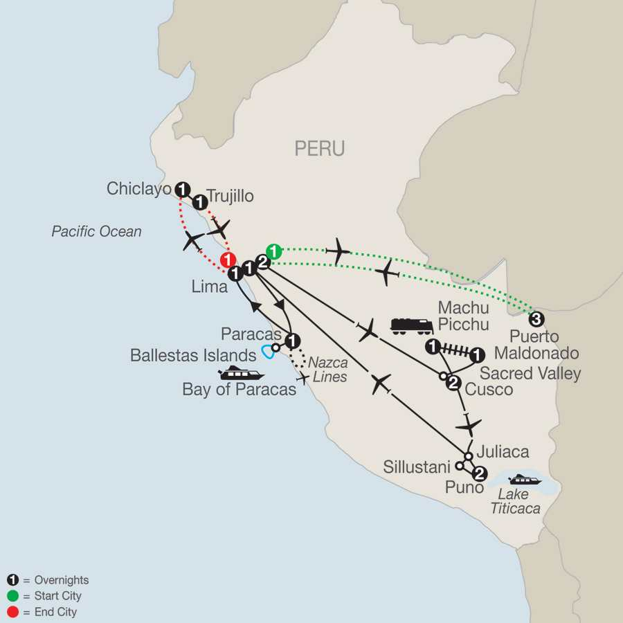 Legacy of the Incas with Peru's Amazon, Chiclayo & Trujillo
