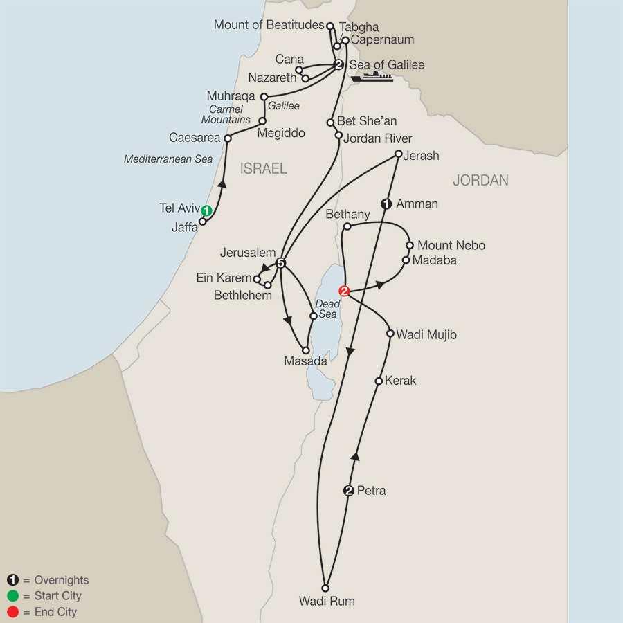 Journey Through the Holy Land with Jordan – Faith-Based Travel