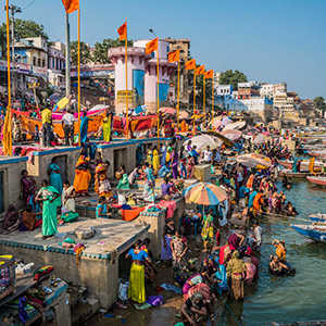 India Escape with Varanasi