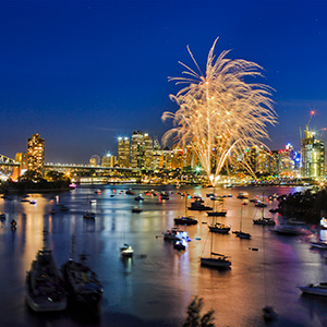 New Year's Eve Down Under with Fiji