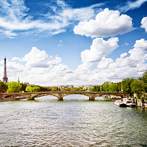 Magnificent Europe with 2 Nights in Paris & 2 Nights in London (Westbound)