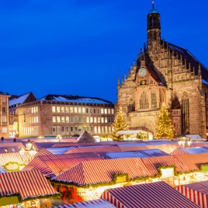 Christmastime from Basel to Nuremberg