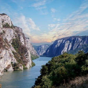 The Danube from Black Sea to Budapest