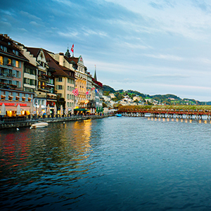 Festive Season on the Romantic Rhine with 2 Nights Lucerne, 2 Nights Paris & 2 Nights London