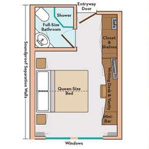 Avalon Deluxe Stateroom (Cat. E)