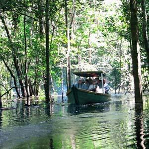 Brazil, Argentina & Chile with Brazil's Amazon