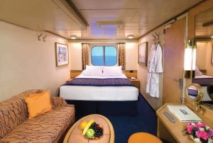 MS Zuiderdam Large Ocean-view Staterooms