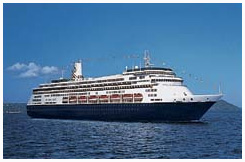 Holland America's MS Zaandam