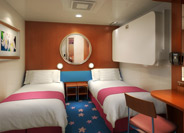 Norwegian Pride of America Inside Stateroom