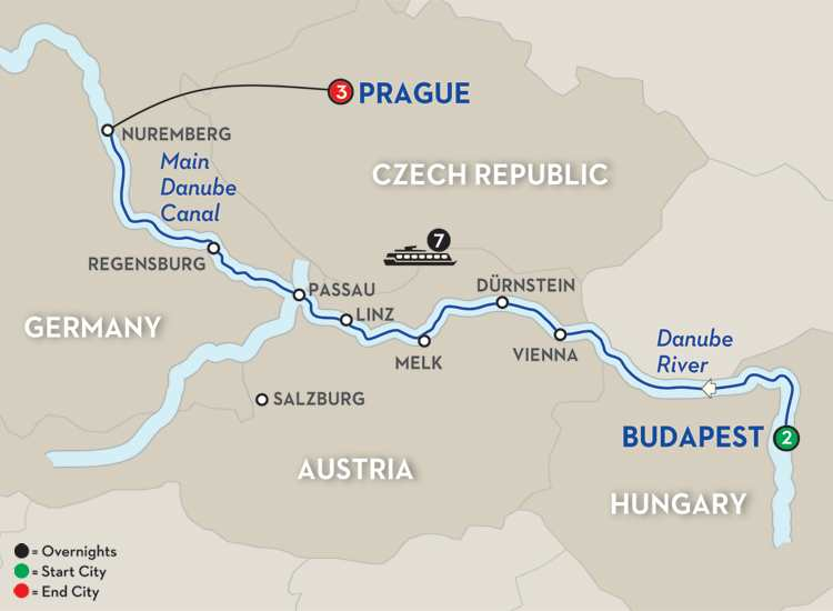 THE BLUE DANUBE DISCOVERY – WESTBOUND