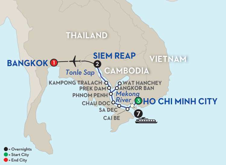 FASCINATING VIETNAM, CAMBODIA & THE MEKONG RIVER – NORTHBOUND