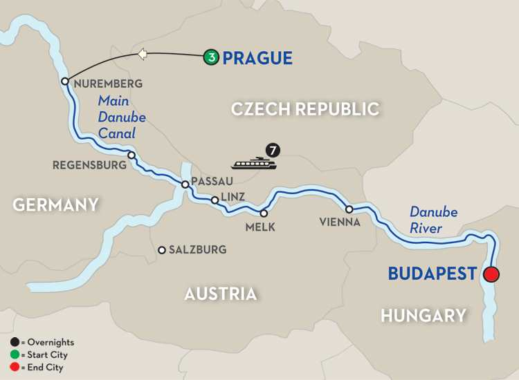 THE LEGENDARY DANUBE – EASTBOUND