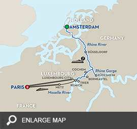 Canals, Vineyards & Paris – Southbound