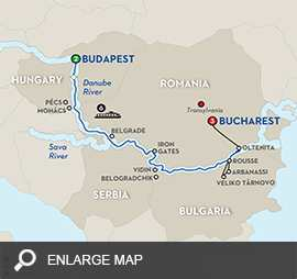 Balkan Discovery with Extended Stay in Bucharest - Eastbound
