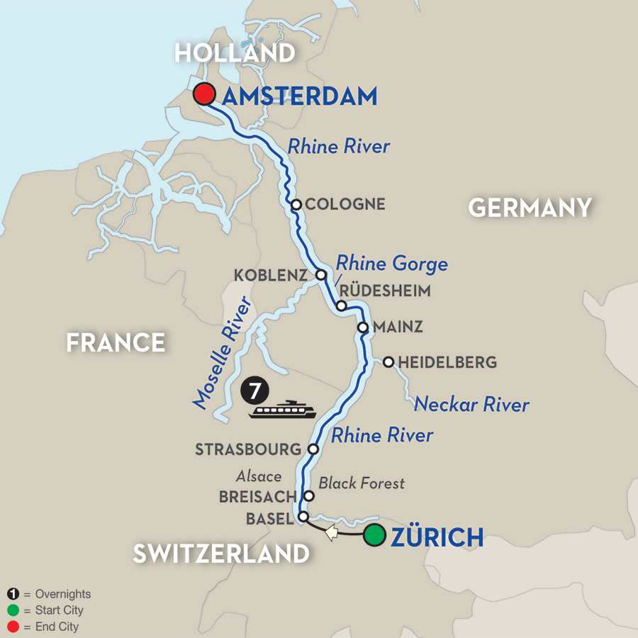 Romantic Rhine Northbound Avalon Tour Tripcentral Ca
