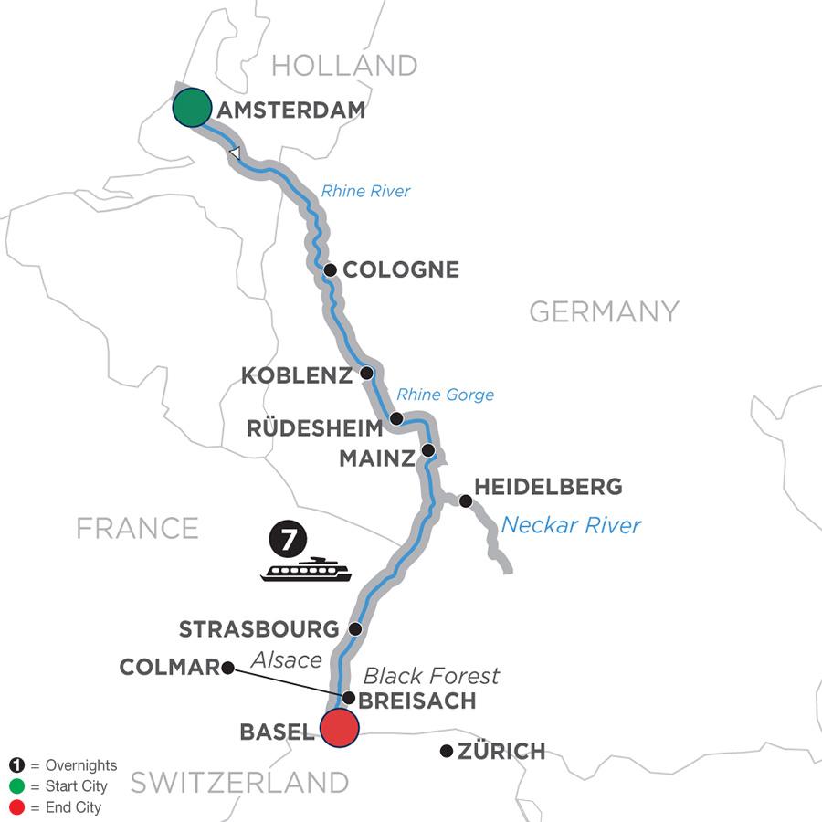 Romantic Rhine - Southbound (WAZ2019)