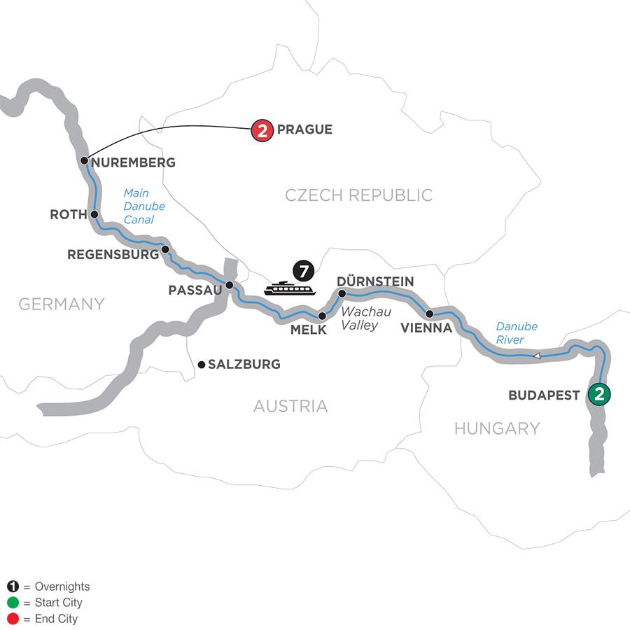 The Blue Danube Discovery (WBN2019)